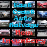 East Coast Auto Salvage New Inventory
