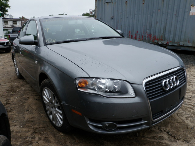 2006 Audi A4 Quattro Sedan. 2.0L Turbo Engine, Automatic Transmission, AWD.  Grey With A Grey Interior, Many Nice Interior Components In Addition To The  ...