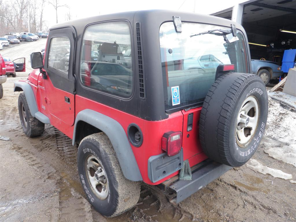 we recently received this poppy red 1997 jeep wrangler se and have. Cars Review. Best American Auto & Cars Review