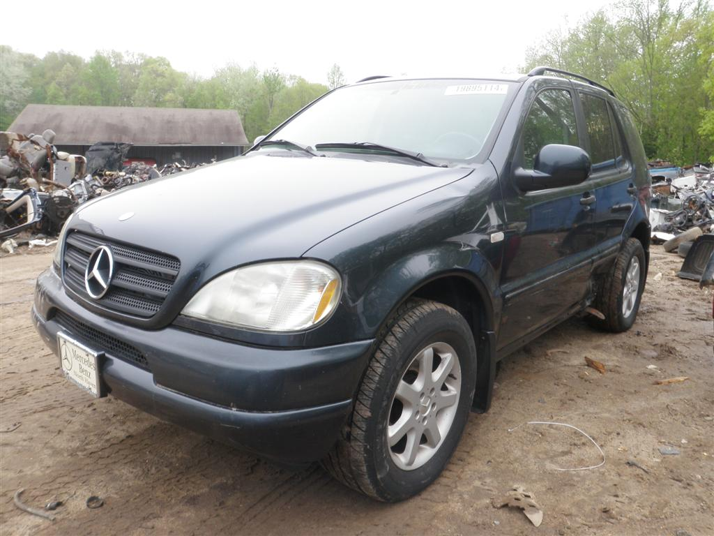 PARTS 004 Large 1999 mercedes m class ml430 quality used oem replacement parts  at eliteediting.co