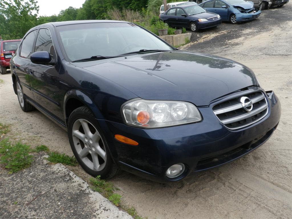 This 2002 Nissan Maxima Has A 3.5L V6 DOHC 24V Engine And A 4 Speed  Automatic Overdrive Transmission. If You Need Parts From This Maxima Or Any  Other Parts ...