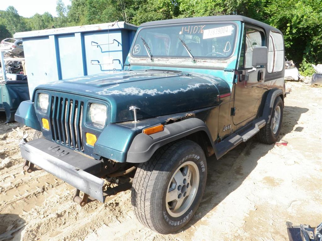 Used Jeep Wrangler Parts >> 1995 Jeep Wrangler Se Quality Used Oem Replacement Parts
