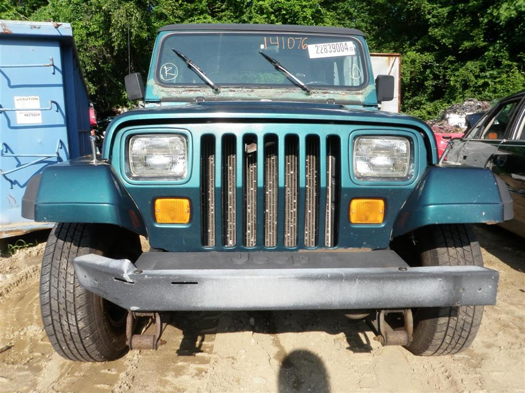 This Jeep Wrangler has a 4.0L L6 OHV 12V Engine and a 5-Speed Manual  Overdrive Transmission. If you need parts from this Wrangler SE or any  other parts for ...