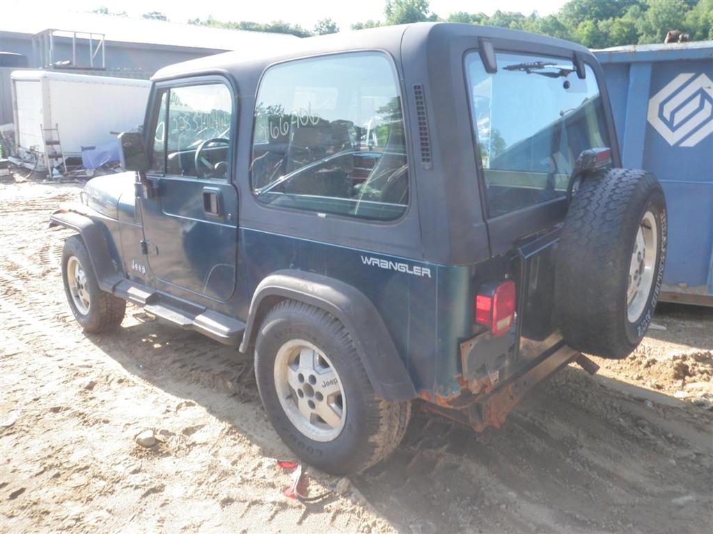 1995 jeep wrangler se quality used oem replacement parts :: east