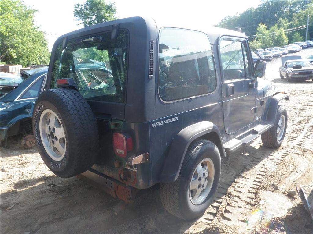 1995 Jeep Wrangler Se Quality Used Oem Replacement Parts East 95 Engine Schematics This Has A 40l L6 Ohv 12v And 5 Speed Manual Overdrive Transmission If You Need From Or Any Other For