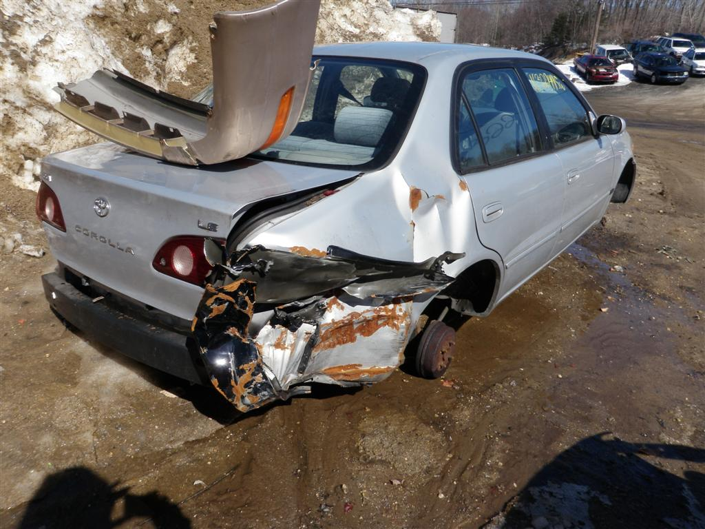 2001 Toyota Corolla LE Quality Used OEM Replacement Parts  East