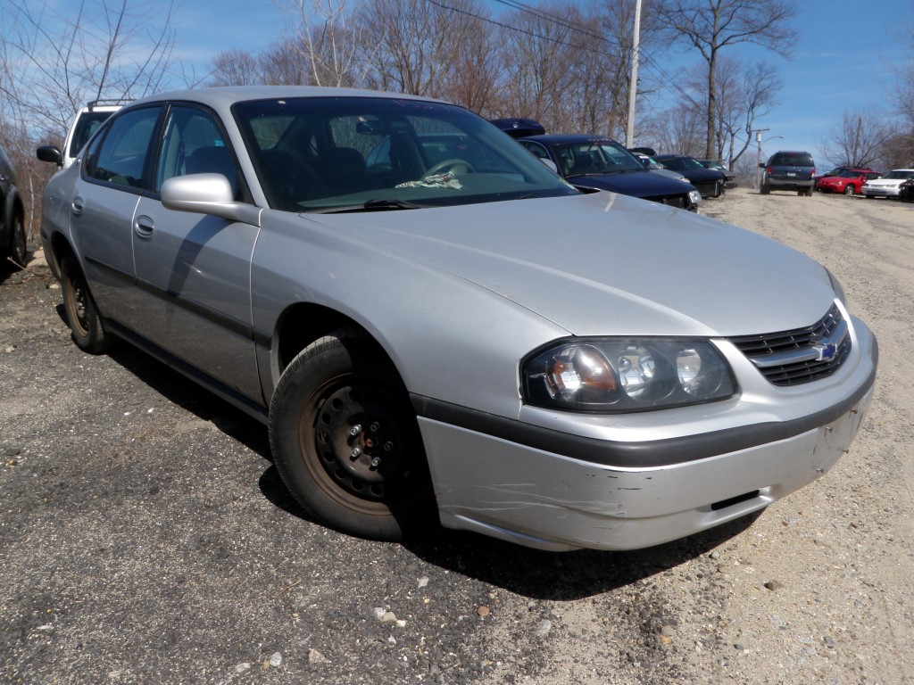 2003 Chevrolet Impala Quality Used OEM Replacet Parts :: East ...