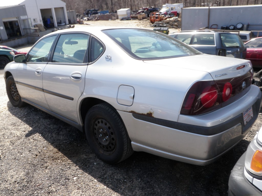 All Chevy chevy 2003 : 2003 Chevrolet Impala Quality Used OEM Replacement Parts :: East ...
