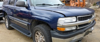 2002 Chevy Tahoe LS 5.3L V8 AT 4x4 Paint Code: 39U Indigo Blue Metallic Stock# 162706